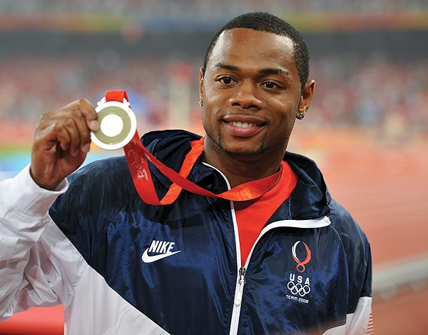 Former UC All American David Payne, att '04, won a silver medal in the 110-meter hurdles at the 2008 Olympic Games in Beijing.