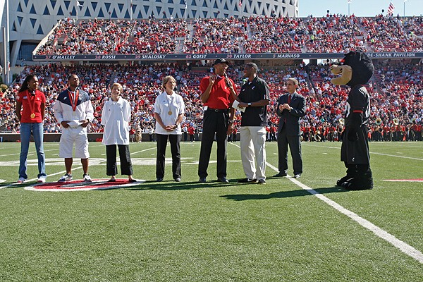 UC Olympians at Nippert Stadium