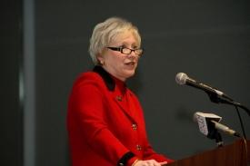 UC President Nancy Zimpher