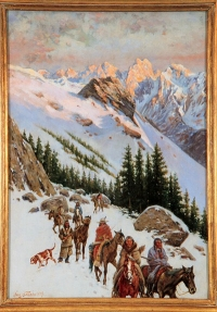 """John Hauser's """"Above the Timber Line"""""""