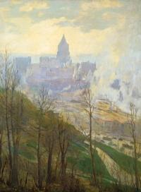 """Kate Reno Miller """"View of Cincinnati"""""""
