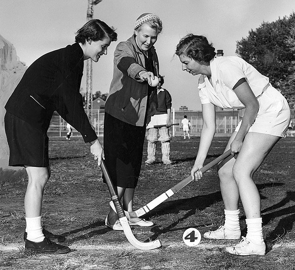 Field Hockey at UC in 1955
