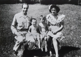 President Gregory Williams childhood family.