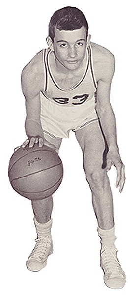 Greg Williams as a freshman in 1959.