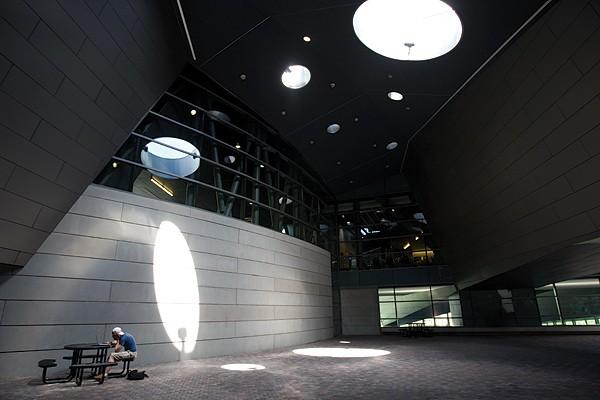 Campus Rec. Center interior.