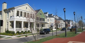 A unique collection of homes with old-style porches in a walkable community designed by UC alumnus Mike Watkins.