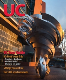 cover of the July 2014 issue of UC Magazine