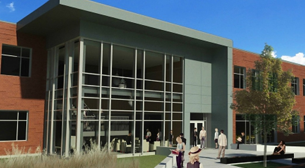 An architect's rendition of the UC Blue Ash renovation.