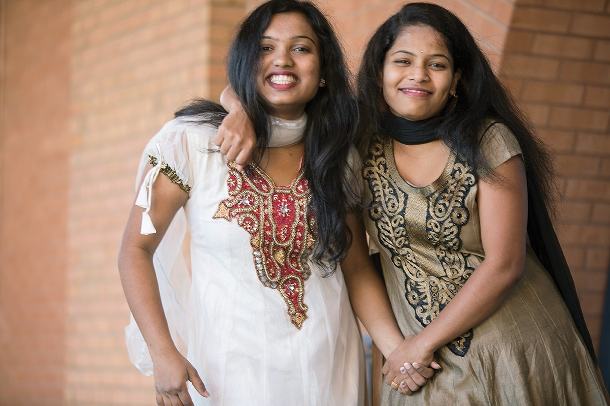 Anjani Lahane and Karishma Randhave