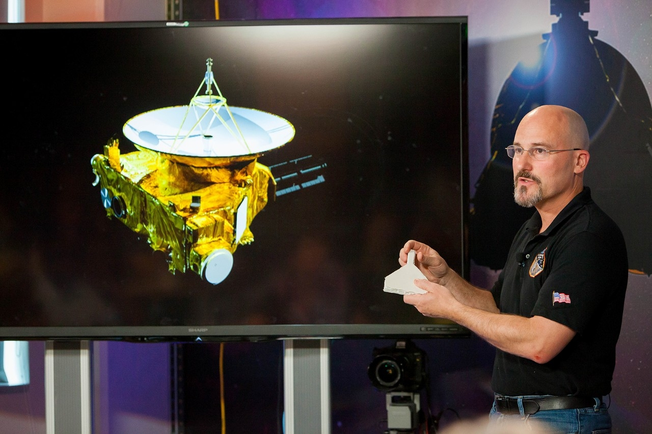 Chris Hersman explains the science behind New Horizons