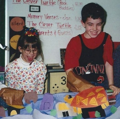 Ryan Atkins & Stephanie Perry in second grade