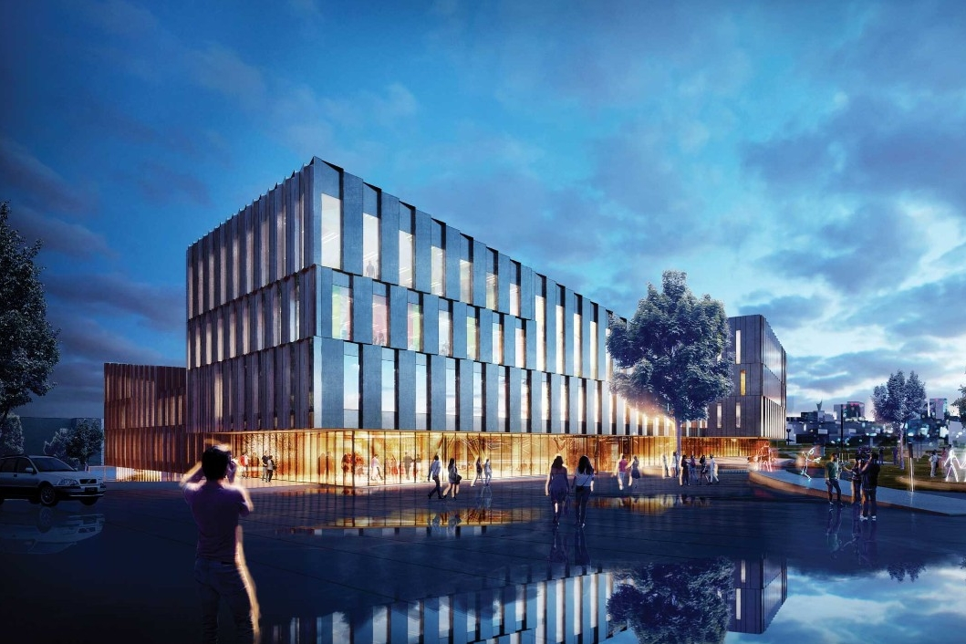 New UC Business School rendering