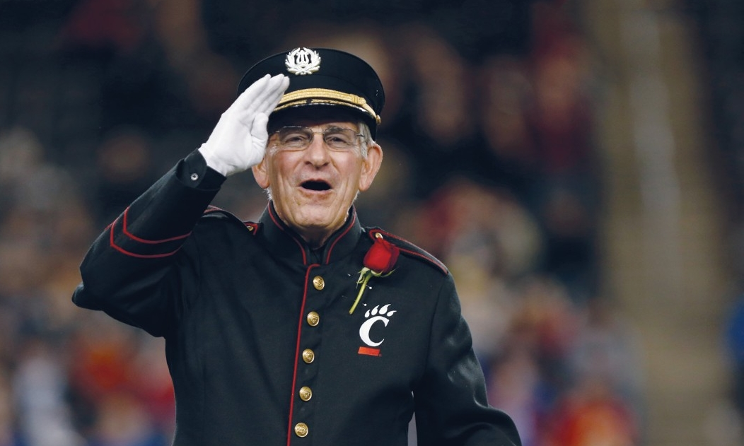 Longtime UC band director Terren Frenz
