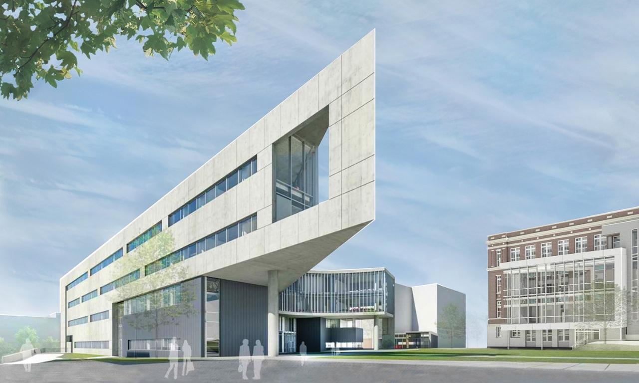 Health Sciences Building rendering