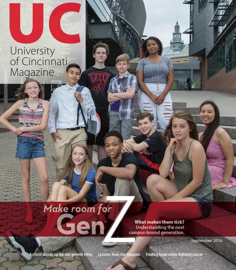 UC Magazine, Sept 2016 Cover
