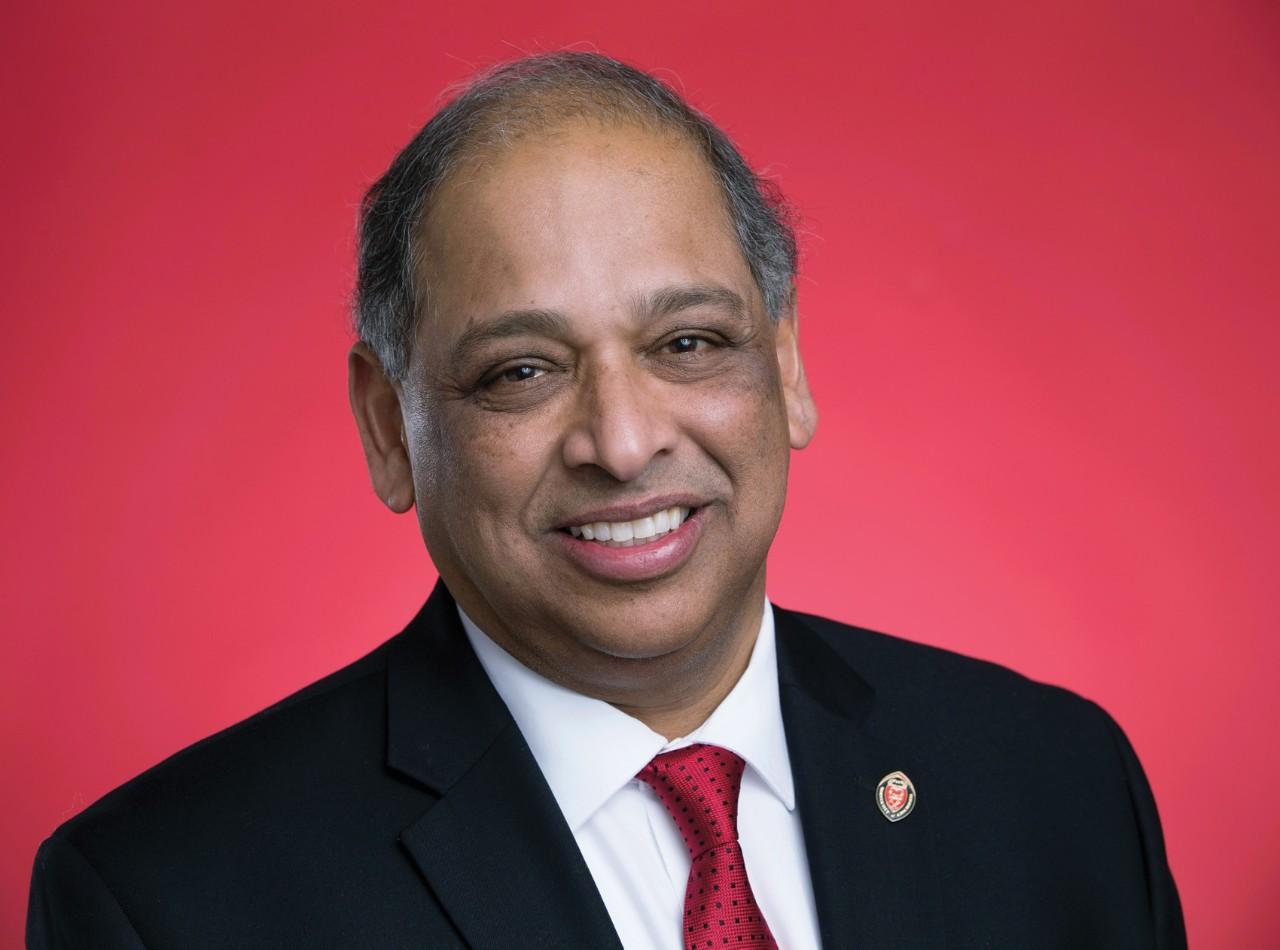 UC President Neville Pinto