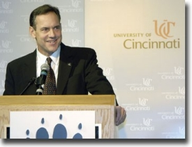 New head football coach Mark Dantonio photo/Lisa Ventre