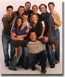 Members of the senior drama class (left to right, from the bottom): Jon Catoe, Lindsey Hall, Daniel Wisler, Susan Thompson, Ben Pitts, Jordan Delp, Jack Lazzaro, Eric Yellin, Ben Zelinski and Derek Hake.