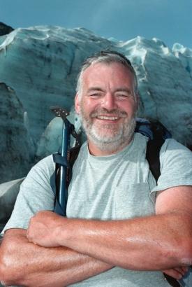 Geology professor Thomas Lowell  photo/Collen Kelley