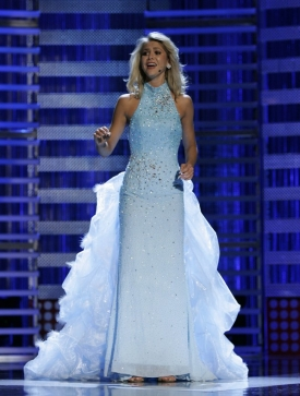 UC College-Conservatory of Music student Kirsten Haglund is Miss America 2008. The 19-year-old musical theater student performed ''Over the Rainbow'' during the talent phase of the competition.