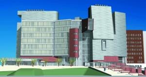 UC's CARE/Crawley building.
