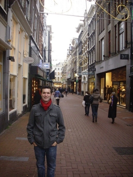 Nick Workman in Amsterdam