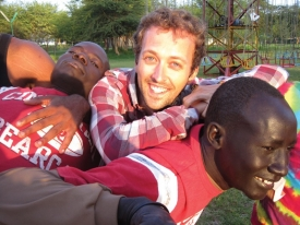 Since graduating from UC's drama program in 2005, Michael Littig along with Julianna Bloodgood founded the Great Globe Foundation, a nonprofit that uses the power of the arts to inspire voices of youth throughout the world. The two of them worked in the Dadaab refugee complex for several months in 2011.