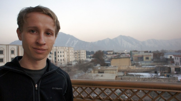 UC alumnus Mitchell Sutika Sipus is on faculty at the American University in Afghanistan, located in Kabul.