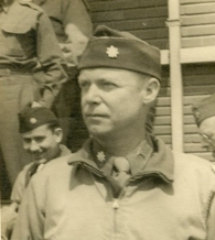 A head shot of Dr. Jean Stevenson in uniform.