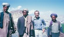 Nick Hoesl in Afghanistan