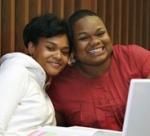 Chandani Jones and a friend