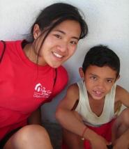 Allison Ng in El Salvador