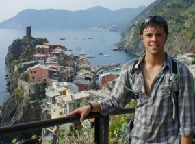 Nate Borowitz in Italy
