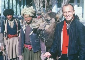 Alumnus Nick Hoesl vounteering in Afghanistan in the mid-'60s.