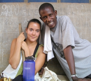 Kat Haessler, DAAP's first doctoral Coverdell Fellow, served in Senegal, West Africa, as an agriculture volunteer.