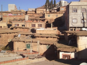 The Berber Village near Marrakesh, Morocco