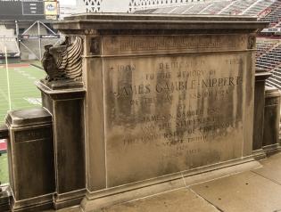 Nippert Stadium memorial