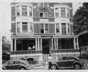 Ludlow Hall photo from the 1960s. Just the front of the brick building