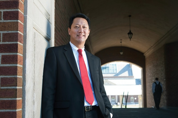 PHOTO GALLERY -- 1/21 -- Santa Ono became UC's 28th president in October 2012 after two years as provost and a short stint as interim president. photo/Ashley Kempher