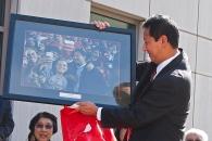 UC President Santa Ono