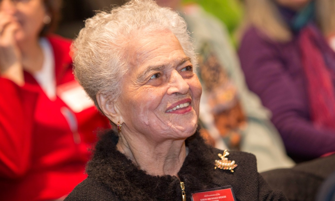 Civil rights pioneer and UC alumna Marian Spencer.