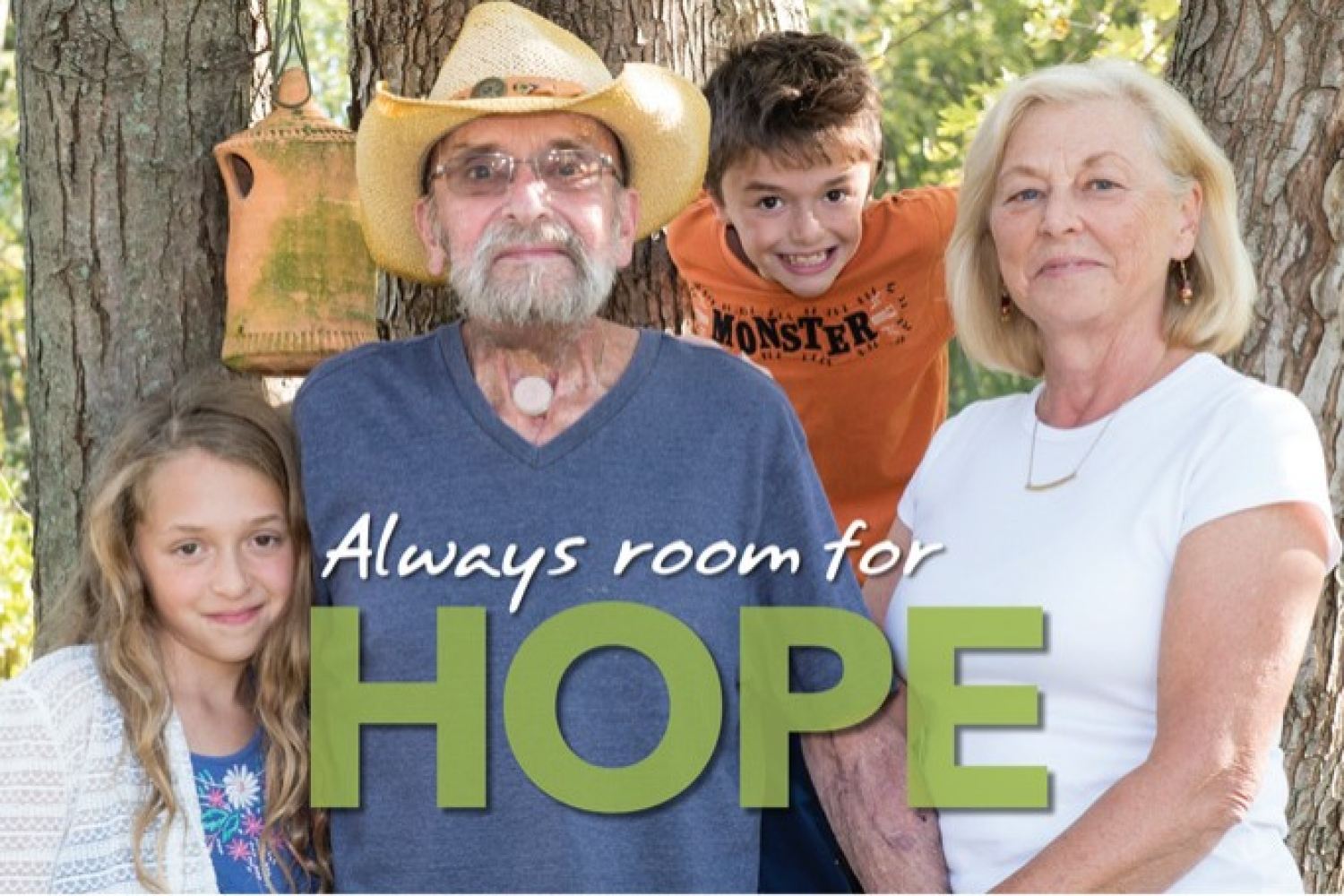 Always room for hope graphic