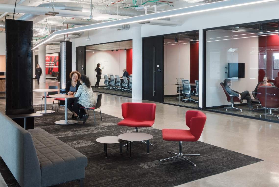 1819 Innovation Hub shared spaces