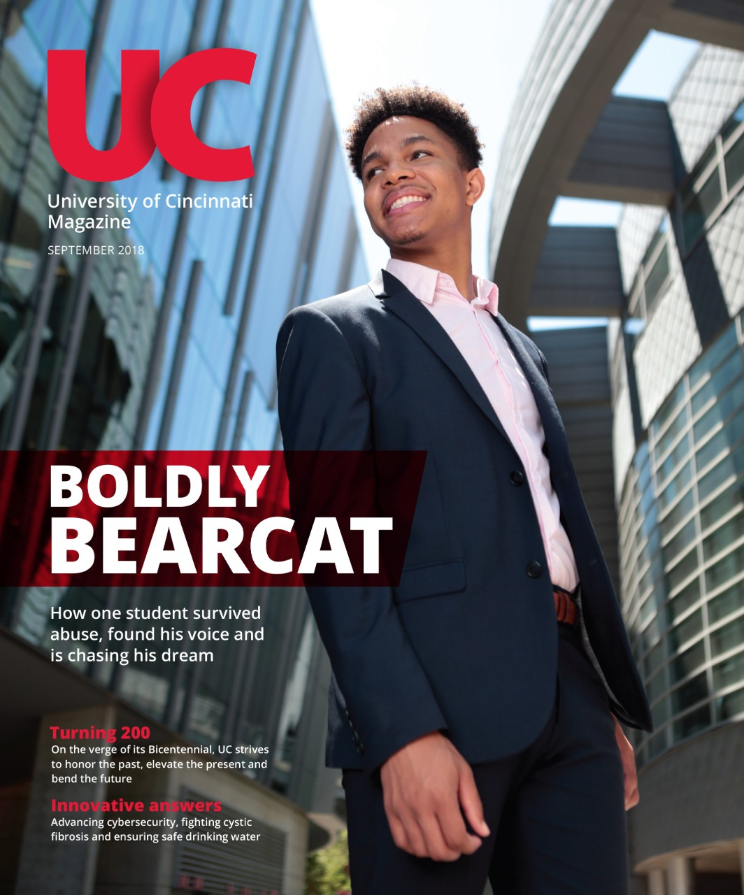 UC Magazine Cover Fall 2018