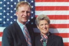 Wyant's wife, Jane Feldman, was the UC grad's coach and guide at the World Blind Golf Competition, 2000.