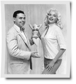 Jayne Mansfield and Don Poynter