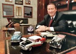 Wyler also enjoys cars in miniature. photo/Lisa Ventre