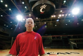 Though Mick Cronin claims he would have coached UC for a handful of coupons to LaRosa's and Montgomery Inn, he received a six-year deal guaranteeing him $750,000 a year. The Cronin-to-UC news on March 23, 2006, came minutes after Ole Miss announced they had hired interim coach Andy Kennedy and hours after Bob Huggins' first press conference as head coach at Kansas State. photos/Andrew Higley