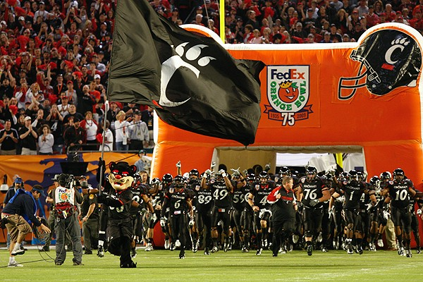 UC Bearcat, Orange Bowl