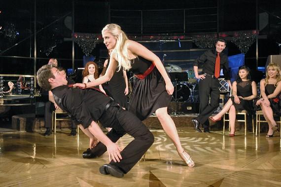 CCM dancers on the floor